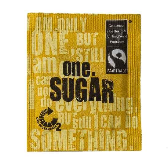 One Fairtrade Sugar
