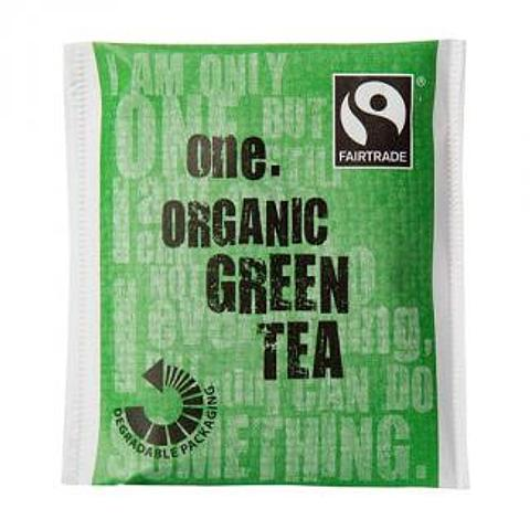 One Fairtrade Organic Green Tea