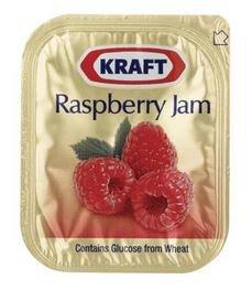 Kraft Raspberry Jam 50 x 11gm units