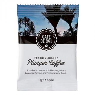 Cafe de Sol Special Blend Plunger Packs (100 portions)