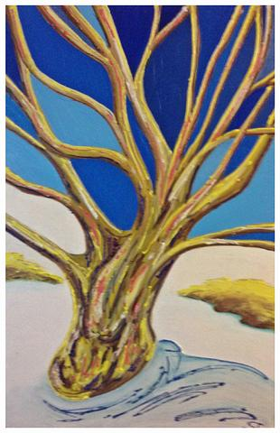 Artwork By S Thomas - Winter Tree