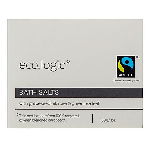 eco.logic Fairtrade Bath Salts