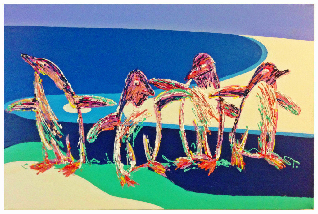 Artwork By S Thomas - Penguins