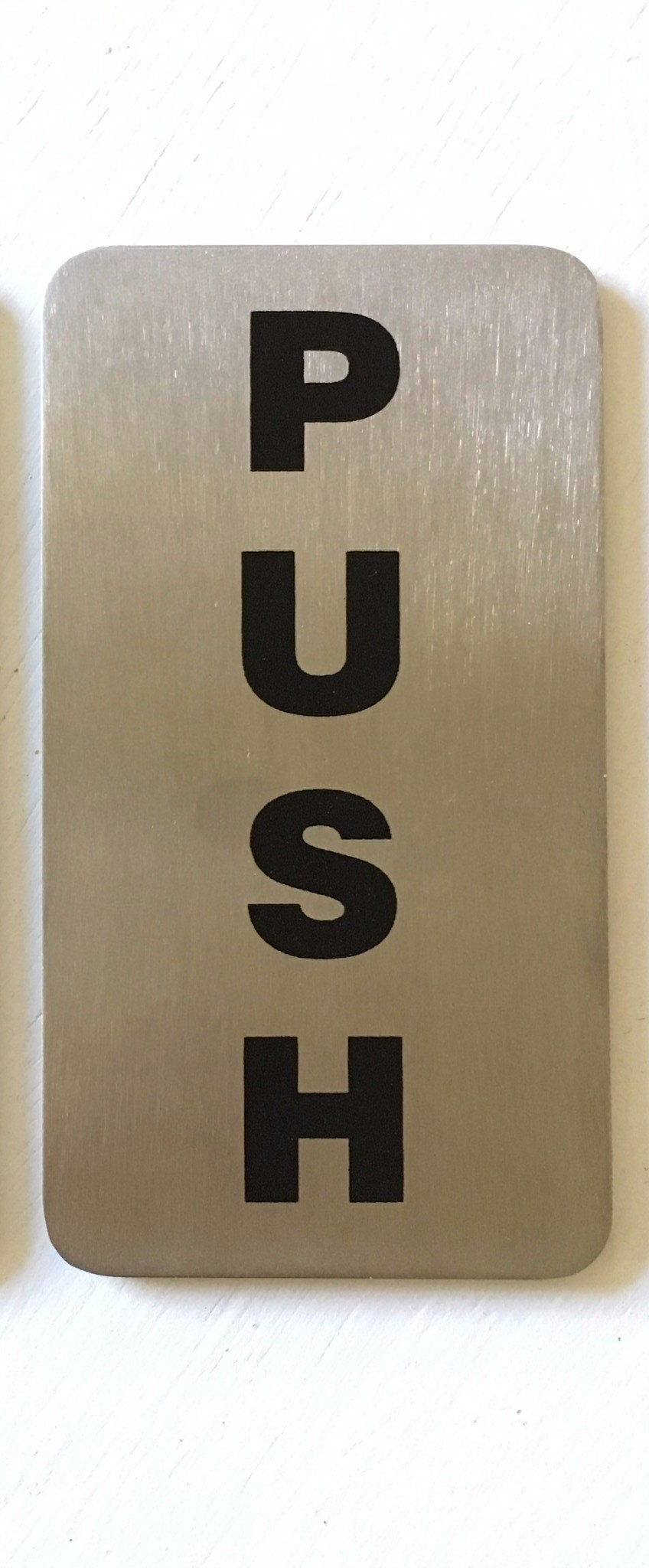 Push Sign
