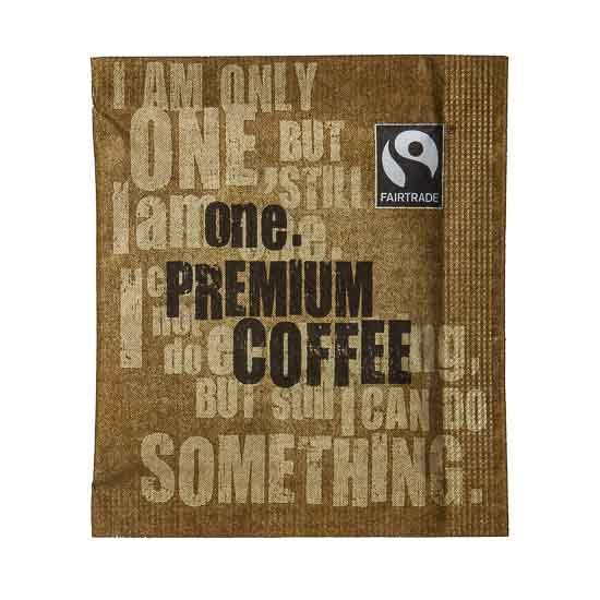 One Fairtrade Premium Coffee