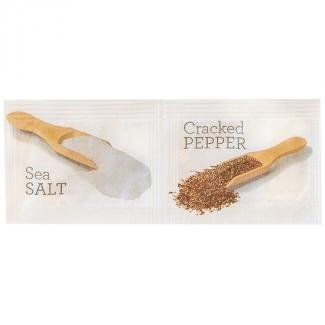 Twin Salt & Pepper Sachets (1000 portions)