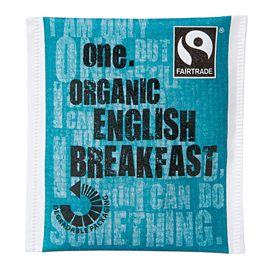 One Fairtrade English Breakfast Tea