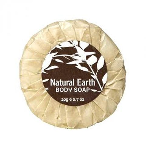 Natural Earth 20g Pleat-wrapped Soap (50 units)