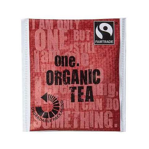 One Fairtrade Organic Tea