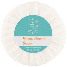 Pure Beach Pleat Wrap Soap 20g (50 units)