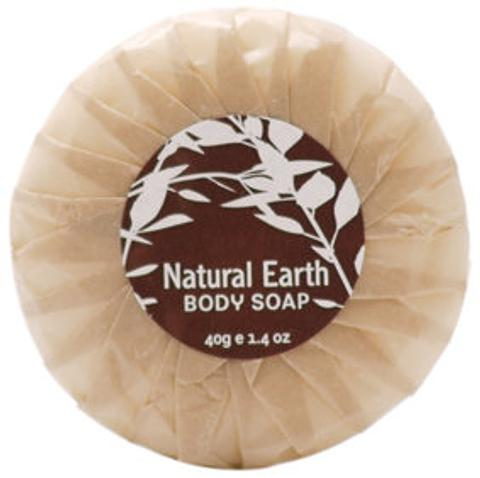 Natural Earth 40g Pleat-wrapped Soap (350 units)