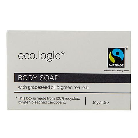 eco.logic Fairtrade Soap 40gm