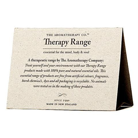 Therapy Range Evironmental Tent Cards