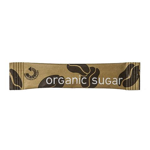 Cafe Style Organic Sugar Sticks