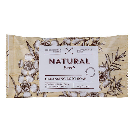 Natural Earth 100g Lemon Balm Soap
