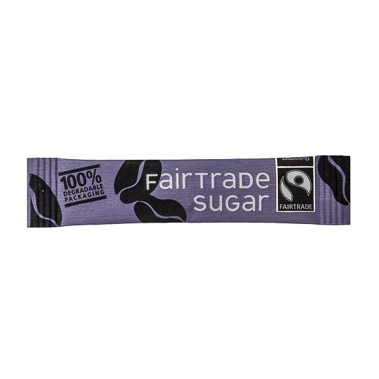 Cafe Style Fairtrade Sugar Sticks (2000 units)